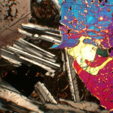 polarisationsmikroskopische Aufnahme